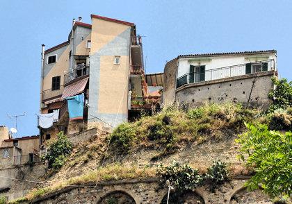 italienske huse på bule